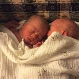Newborn Twins in Salem OR